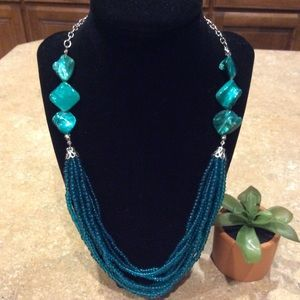 Jewelry - Fashion Cluster Beaded Necklace